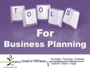 Tools for Business Planning