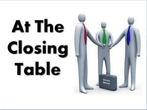 At the Closing Table
